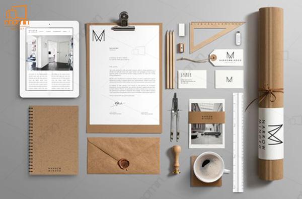 Mẫu thiết kế ấn phẩm văn phòng ấn tượng