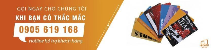 Banner chuyên dịch vụ in thẻ nhựa