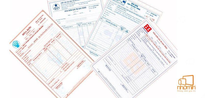 Các mẫu hóa đơn đẹp mắt