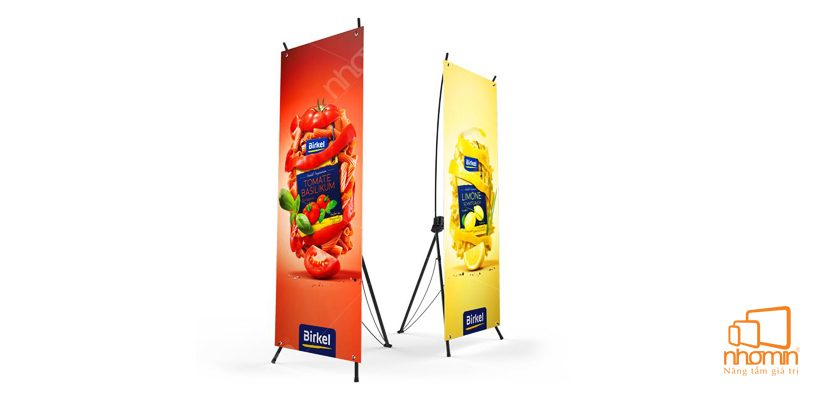 In PP standee sinh động