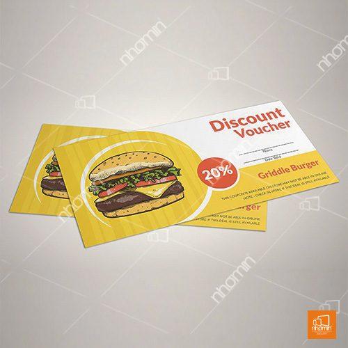 Phiếu giảm giá đồ ăn