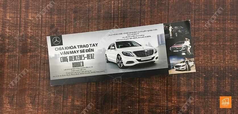Thẻ voucher ô tô Mercedes Benz