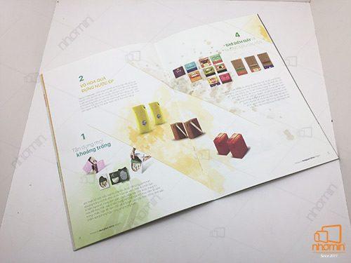 mẫu catalogue giấy mỹ thuật
