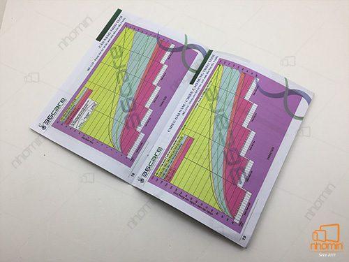 catalogue chất liệu giấy offset