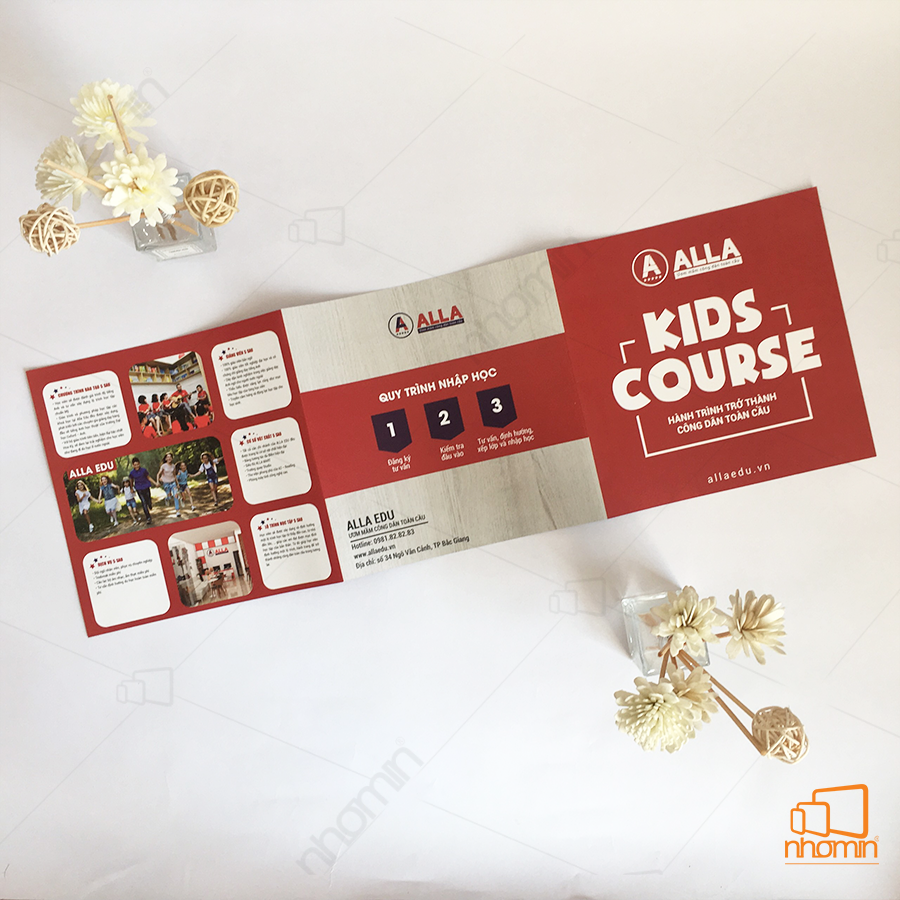 mẫu catalogue alla kis course