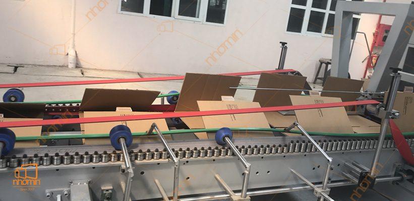 dây truyền sản xuất thùng carton của AUGROUP