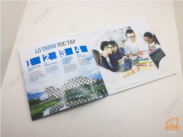 Hình ảnh ruột cuốn catalogue tuyển sinh FPT