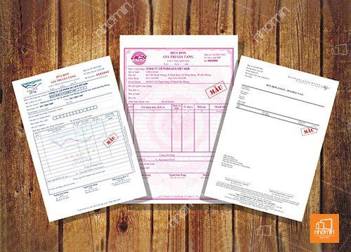 hóa đơn 3 liên