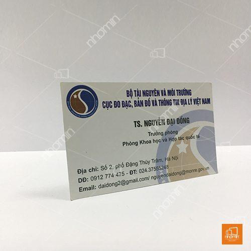 mẫu card visit cơ quan nhà nước