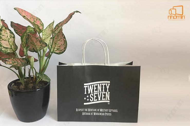 mẫu túi giấy twenty seven