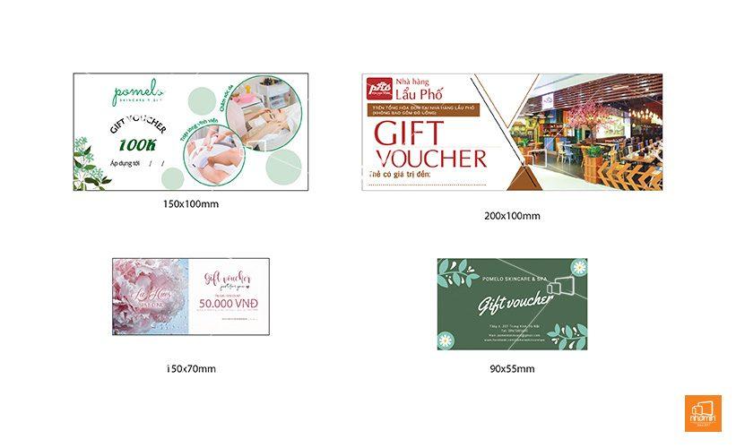 báo giá in voucher thẻ tích điểm