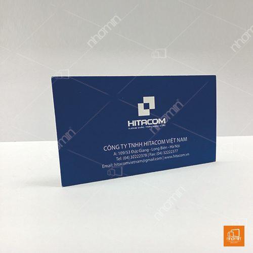 mẫu card visit công ty Hitacom