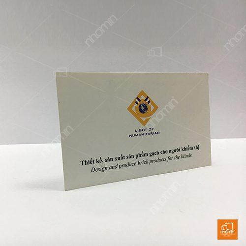 mẫu card visit công ty thiết kế sản xuất gạch