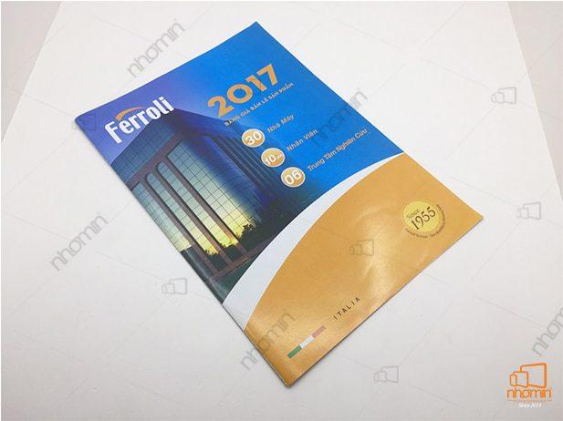 in an catalogue sản phẩm của ferroloi