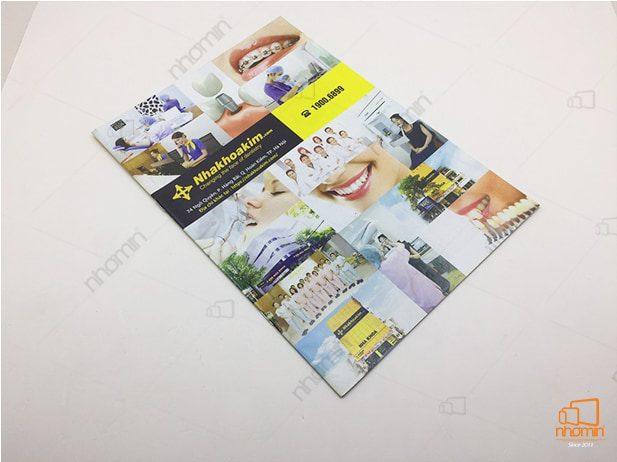 mẫu catalogue dịch vụ làm đẹp NHAKHOAKIM