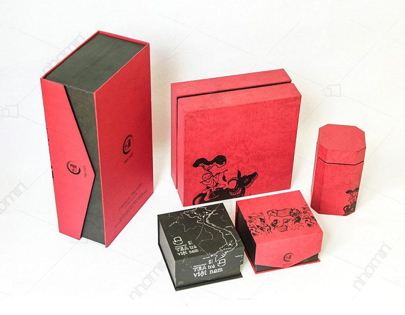 mẫu hộp trà việt do AUGROUP sản xuất