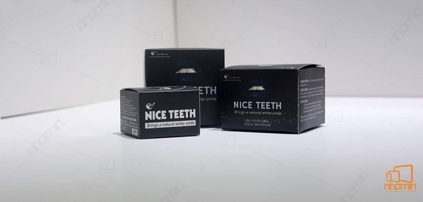 Mẫu hộp giấy Nice Teeth