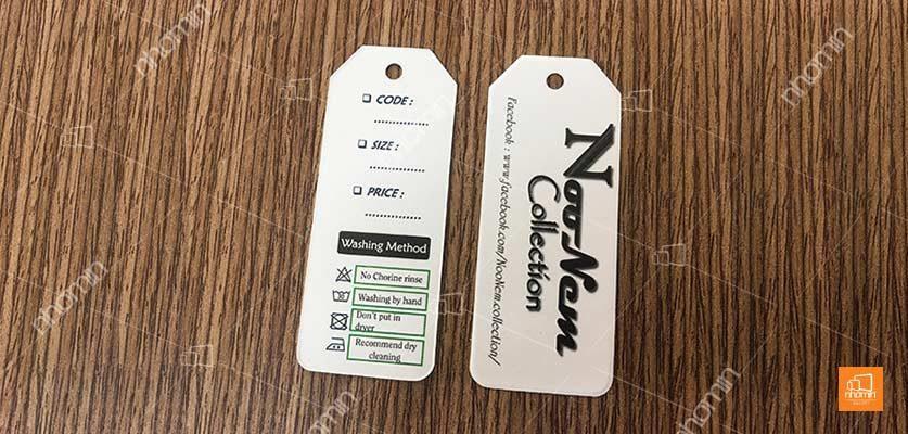 Nhận in tag giấy tại Hà Nội