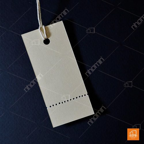 Thẻ treo đơn giản không in