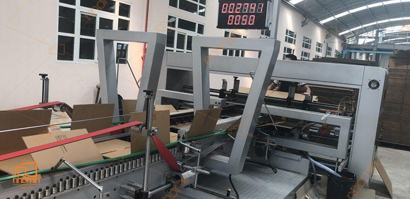 thùng carton in bằng công nghệ in lưới hiện đại